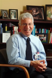 Medical Director, Dr. Lou DiNicola in his office at Gifford Medical Center