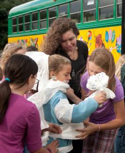jennie harrison with kids
