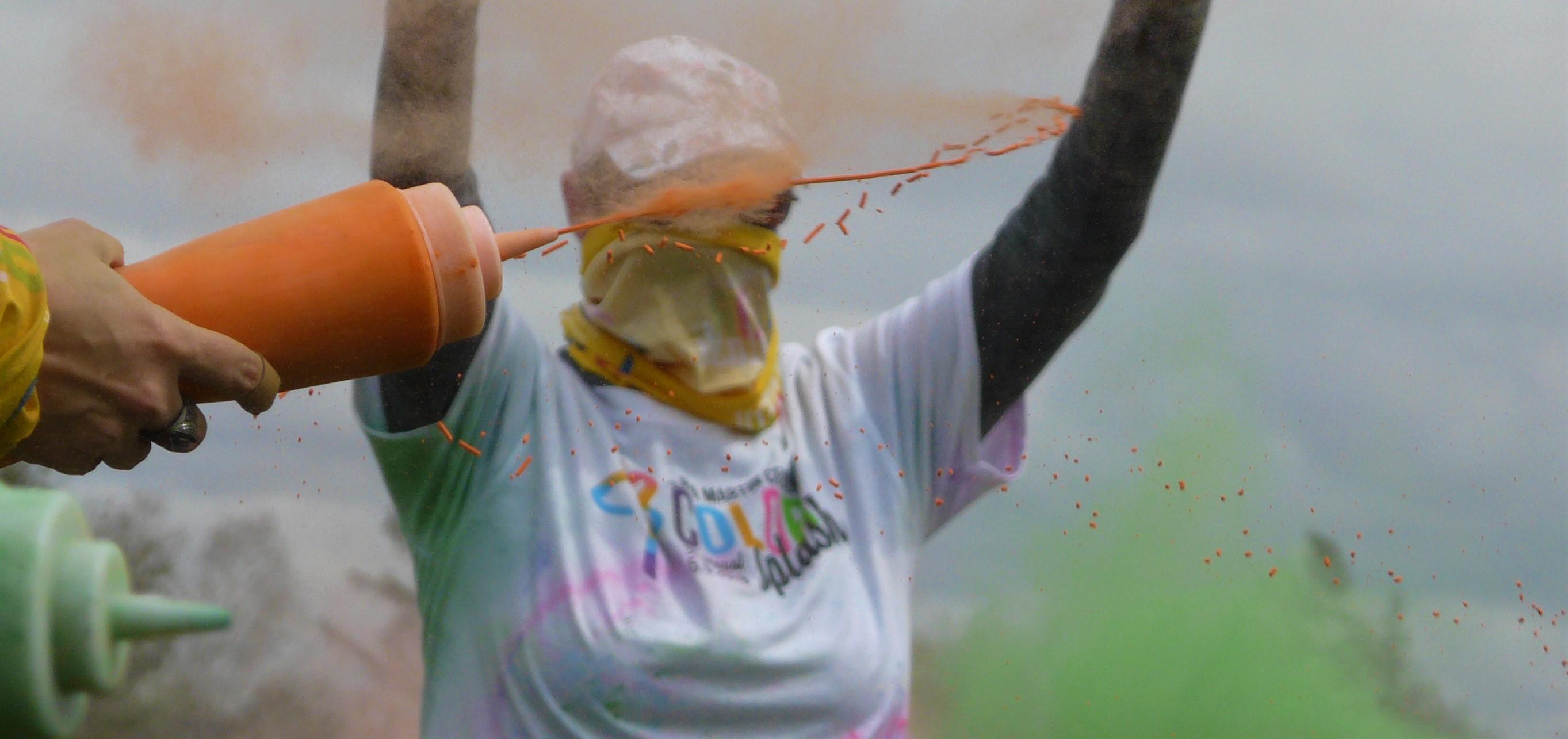 CMC Color Splash - Orange Squirt Close
